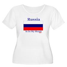 Russia - Heart T-Shirt