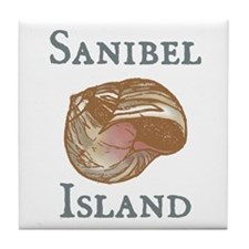 Sanibel Island Tile Coaster