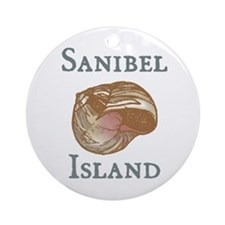 Sanibel Island Ornament (Round)