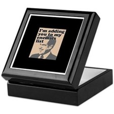 My enemies list Keepsake Box