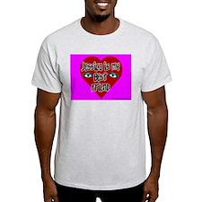 Jessica Is My Best Friend Ash Grey T-Shirt