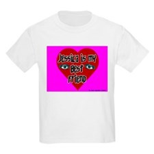 Jessica Is My Best Friend Kids T-Shirt