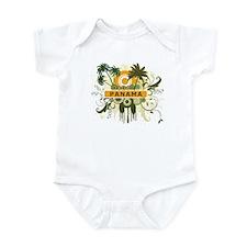 Palm Tree Panama Infant Bodysuit