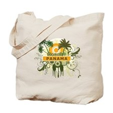 Palm Tree Panama Tote Bag
