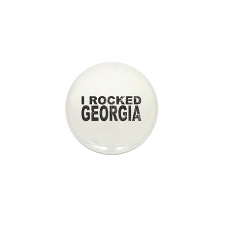 I Rocked Georgia Mini Button (100 pack)