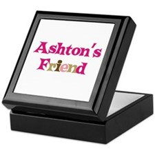 Ashton's Friend Keepsake Box