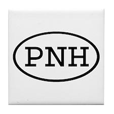 PNH Oval Tile Coaster