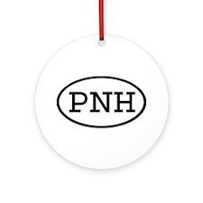 PNH Oval Ornament (Round)