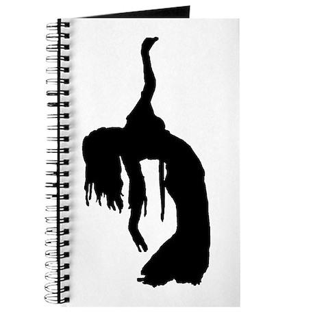 Backbend Silhouette Journal