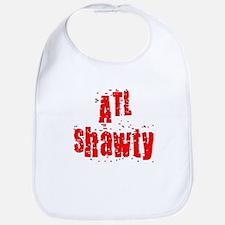 atl shawty - red1 Baby Bib