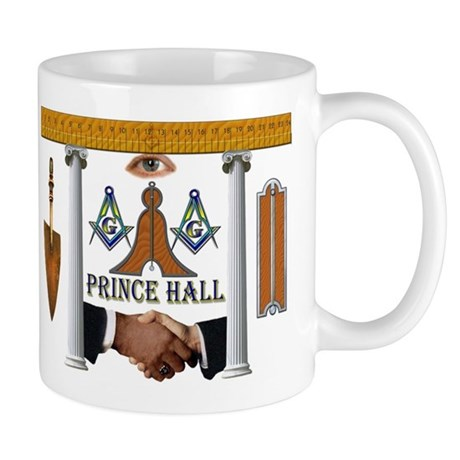Prince Hall Masonic Mug