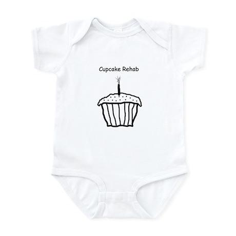 Cupcake Rehab Infant Onesie