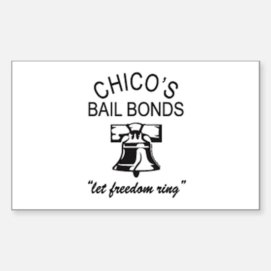 Chico's Bail Bonds Decal