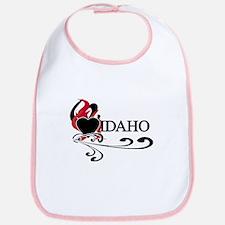 Heart Idaho Bib