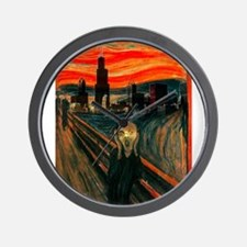 The Scream Series Wall Clock