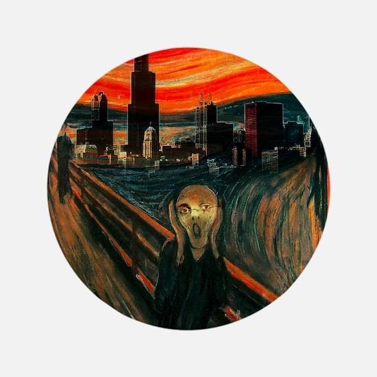 "The Scream Series 3.5"" Button"