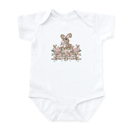 Buns & Roses Infant Creeper