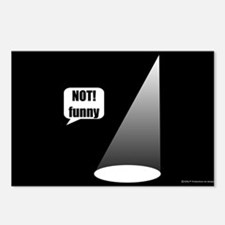 Not Funny Postcards (Package of 8)