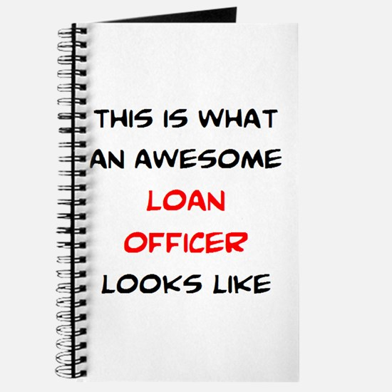 awesome loan officer Journal