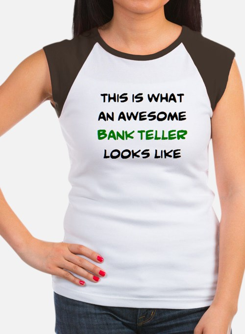 awesome bank teller Tee