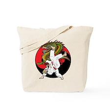 Dragon Karate Tote Bag