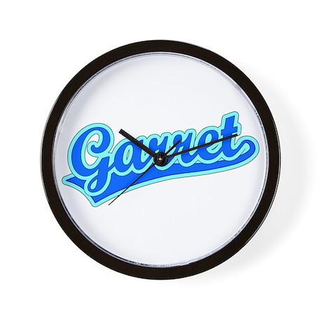 Retro Garret (Blue) Wall Clock