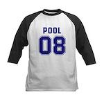 Pool 08 Kids Baseball Jersey