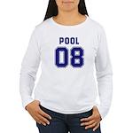 Pool 08 Women's Long Sleeve T-Shirt