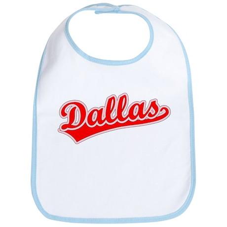 Retro Dallas (Red) Bib