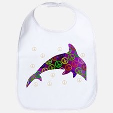 Dolphin Peace - Wednesday Bib
