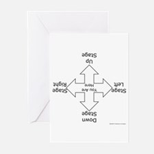 Stage Directions Greeting Cards (Pk of 20)