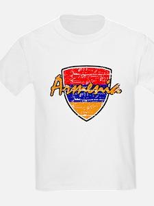 Armenia distressed Flag T-Shirt