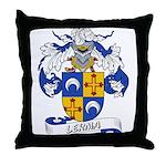 Lerma Family Crest Throw Pillow