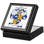 Lerma Family Crest Keepsake Box