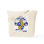 Lerma Family Crest Tote Bag