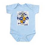 Lerma Family Crest Infant Creeper