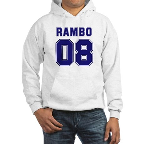 Rambo 08 Hooded Sweatshirt