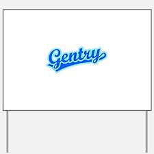 Retro Gentry (Blue) Yard Sign