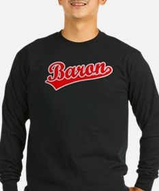 Retro Baron (Red) T