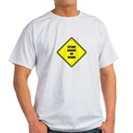 Maternity - Future Beader on Light T-Shirt