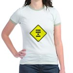Maternity - Future Beader on Jr. Ringer T-Shirt