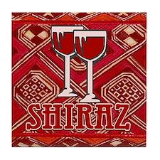 Shiraz Sign Tile Coaster