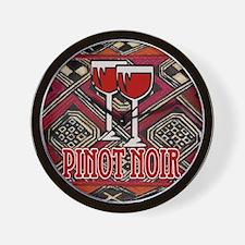 Pinot Noir Sign Wall Clock