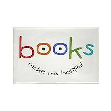 Books Rectangle Magnet (100 pack)