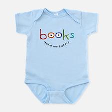 Books Make Me Happy Infant Bodysuit