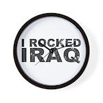 I Rocked Iraq Wall Clock