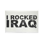 I Rocked Iraq Rectangle Magnet (100 pack)