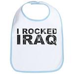 I Rocked Iraq Bib