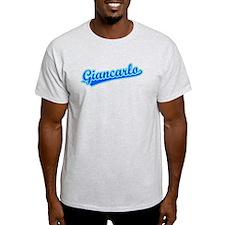 Retro Giancarlo (Blue) T-Shirt