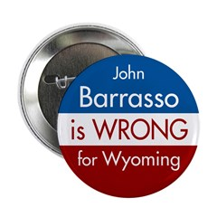 John Barrasso is wrong for Wyoming Button